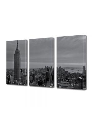 Set Tablouri Multicanvas 3 Piese In centrul New York ului
