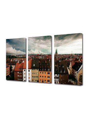 Set Tablouri Multicanvas 3 Piese Nuremberg Germania