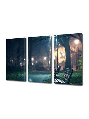 Set Tablouri Multicanvas 3 Piese In parc