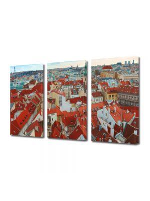 Set Tablouri Multicanvas 3 Piese Praga