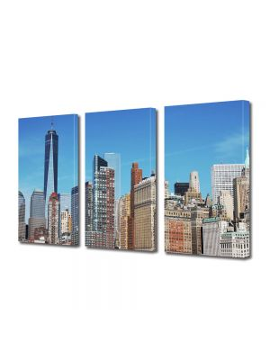 Set Tablouri Multicanvas 3 Piese New York