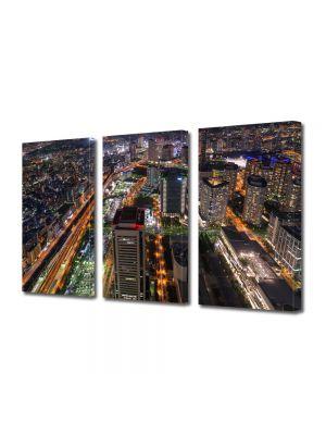 Set Tablouri Multicanvas 3 Piese Tokyo