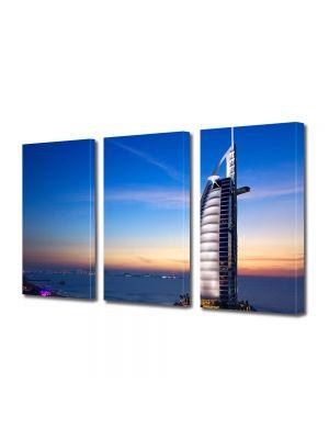 Set Tablouri Multicanvas 3 Piese Hotel in Dubai