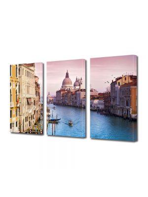 Set Tablouri Multicanvas 3 Piese Venetia Italia