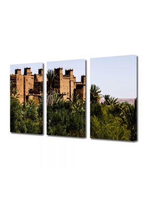 Set Tablouri Multicanvas 3 Piese Maroc