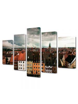 Set Tablouri Multicanvas 5 Piese Nuremberg Germania