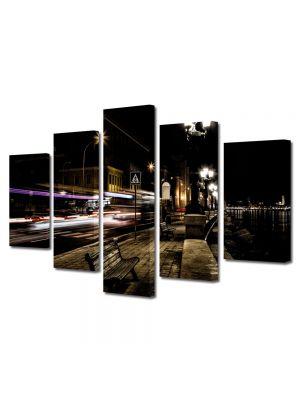 Set Tablouri Multicanvas 5 Piese Promenada
