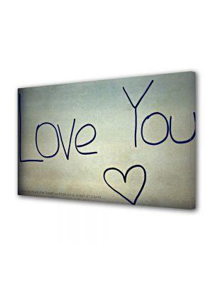 Tablou Canvas Valentine's Day Ziua indragostitilor Pr tine te iubesc