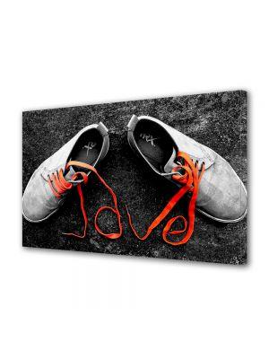 Tablou Canvas Valentine's Day Ziua indragostitilor Pantofiori indragostiti