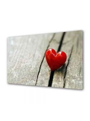 Tablou Canvas Valentine's Day Ziua indragostitilor Inimioara mica