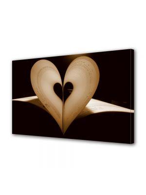 Tablou Canvas Valentine's Day Ziua indragostitilor Pagini inima
