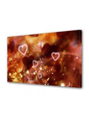 Tablou Canvas Valentine's Day Ziua indragostitilor Inimi plutind