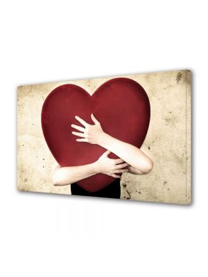 Tablou Canvas Valentine's Day Ziua indragostitilor Imbratisare cu dragoste