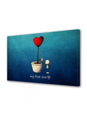 Tablou Canvas Valentine's Day Ziua indragostitilor Prima iubire