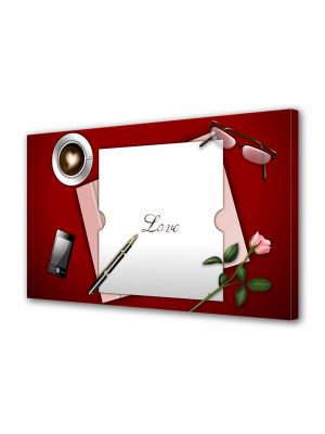 Tablou Canvas Valentine's Day Ziua indragostitilor O scrisoare de dragoste