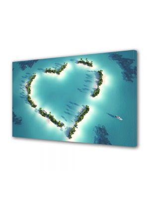 Tablou Canvas Valentine's Day Ziua indragostitilor Insula indragostitilor