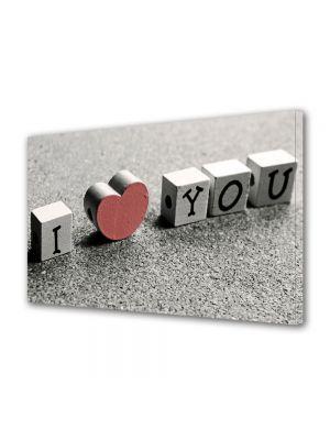 Tablou Canvas Valentine's Day Ziua indragostitilor Mesajul indragostitilor