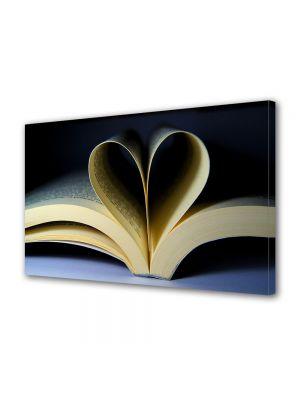 Tablou Canvas Valentine's Day Ziua indragostitilor Carte cu povesti de dragoste