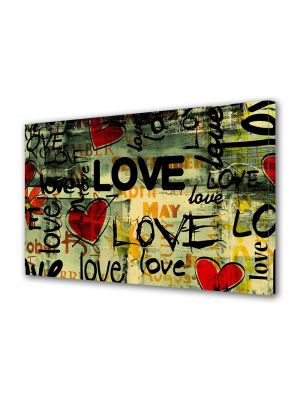 Tablou Canvas Valentine's Day Ziua indragostitilor Abstract