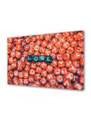 Tablou Canvas Valentine's Day Ziua indragostitilor Litere