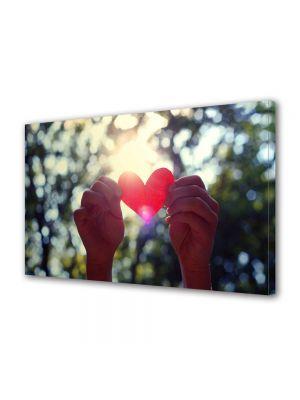 Tablou Canvas Valentine's Day Ziua indragostitilor Inima in soare