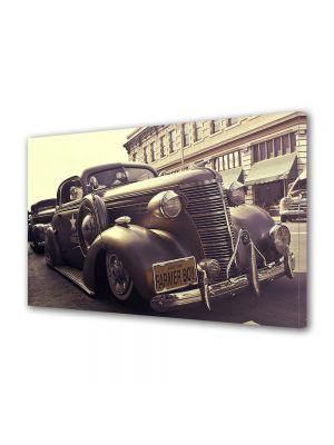 Tablou Canvas Vintage Aspect Retro Masina de epoca in sepia