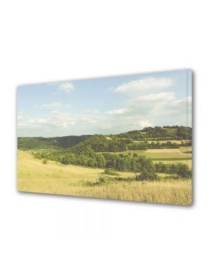 Tablou Canvas Vintage Aspect Retro Calm peste dealuri