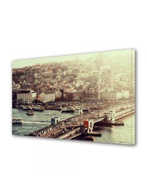 Tablou Canvas Vintage Aspect Retro Pod in Istanbul