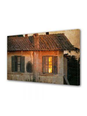 Tablou Canvas Luminos in intuneric VarioView LED Vintage Aspect Retro Casa veche