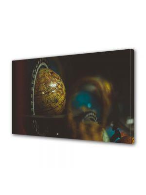 Tablou Canvas Luminos in intuneric VarioView LED Vintage Aspect Retro Africa pe glob
