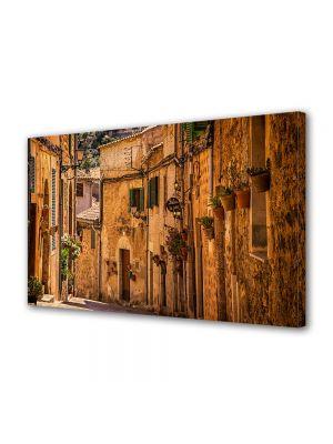Tablou Canvas Luminos in intuneric VarioView LED Vintage Aspect Retro Satuc mediteranean