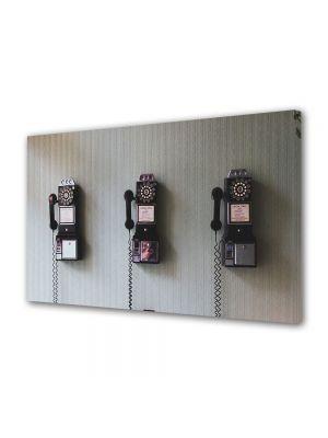 Tablou Canvas Vintage Aspect Retro Telefoane retro