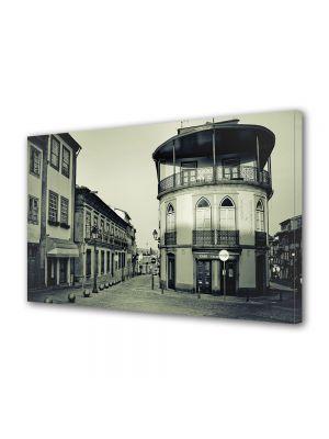 Tablou Canvas Luminos in intuneric VarioView LED Vintage Aspect Retro Oras vechi francez