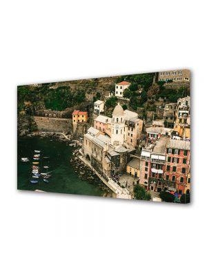 Tablou Canvas Luminos in intuneric VarioView LED Vintage Aspect Retro Orasel in Italia