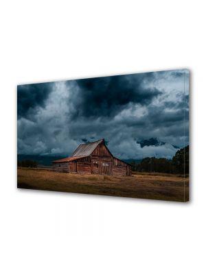 Tablou Canvas Vintage Aspect Retro Nori de furtuna
