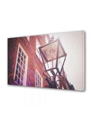 Tablou Canvas Vintage Aspect Retro Lampa de strada