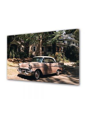 Tablou Canvas Luminos in intuneric VarioView LED Vintage Aspect Retro Masina americana vintage